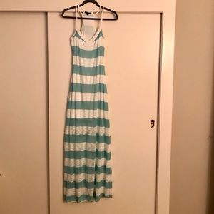 Tart Striped Maxi Dress Size M